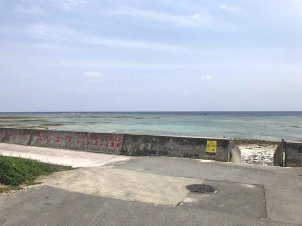 石垣島旅行最終日空港までの小一時間を楽しむ【大浜海岸南端】