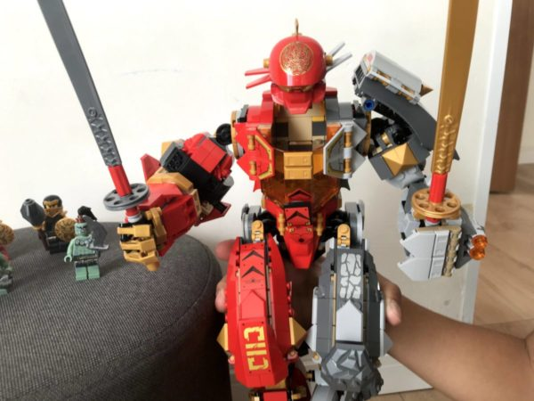 小学生低学年プレゼント【レゴ(LEGO)】ニンジャゴー巨神メカファイヤーストーン
